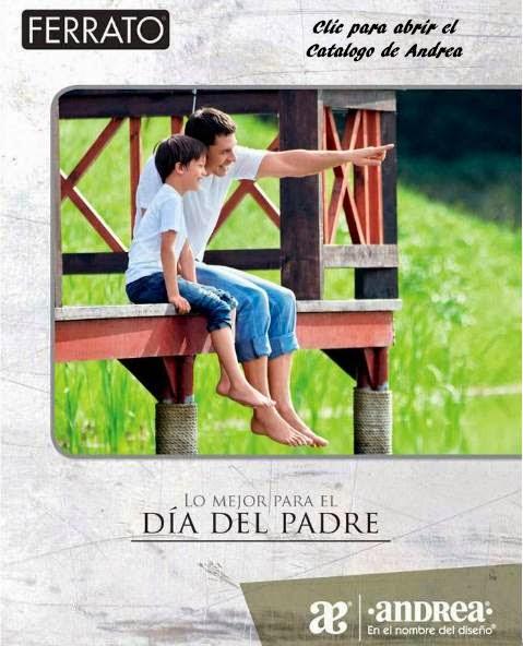 catalogo andrea Dia del Padre 2014