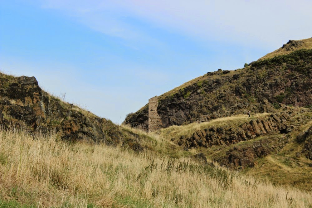 st. anthony's chapel ruins, arthur's seat, edinburgh