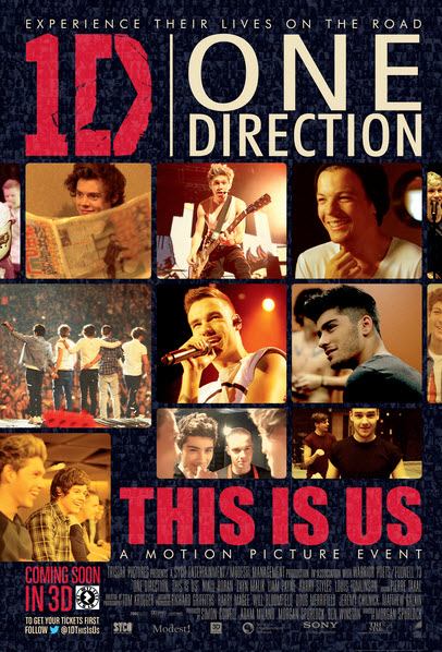 One Direction - This Is Us Movie Poster
