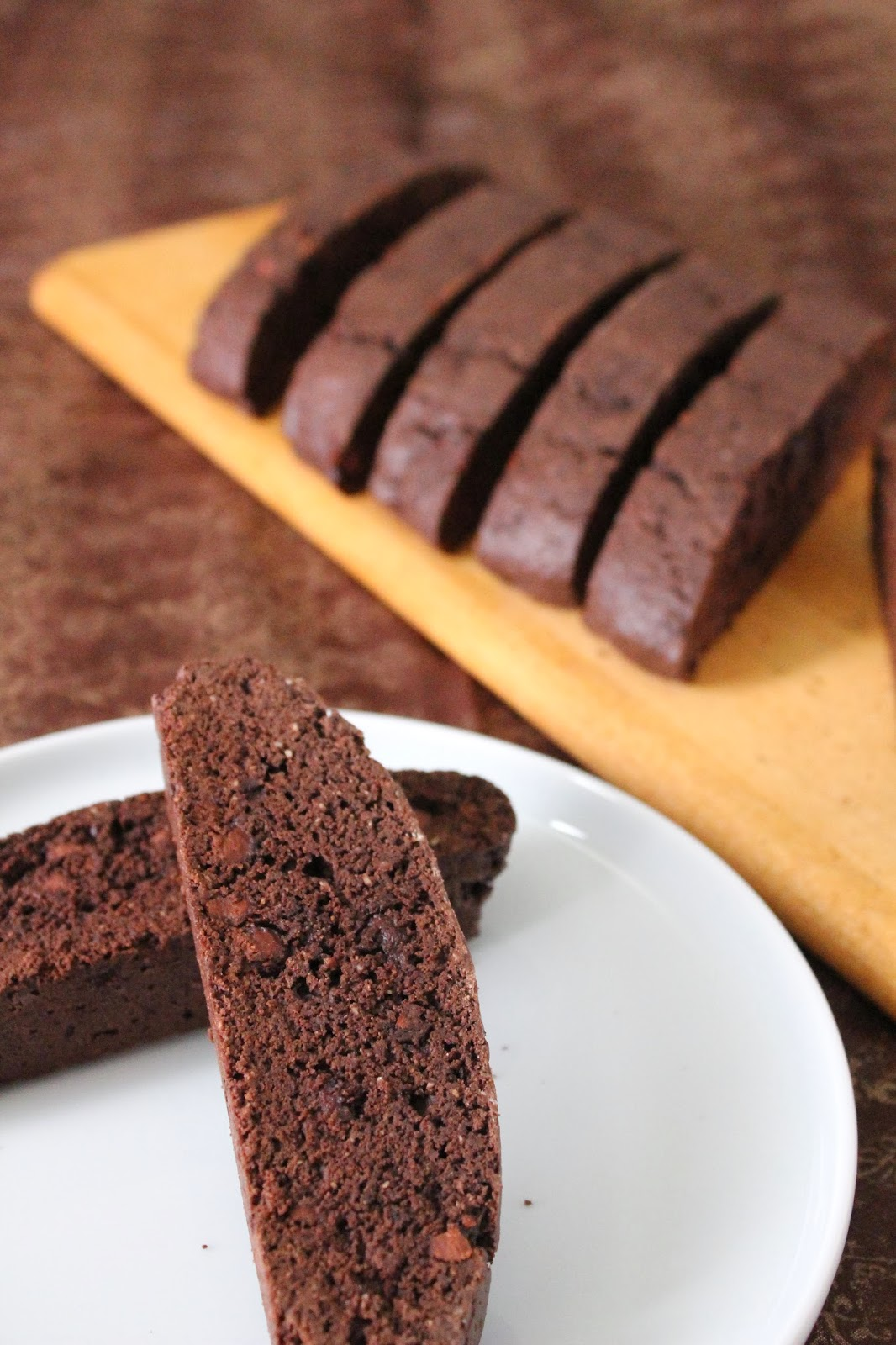 Love and Confections: Double Chocolate Biscotti for # ...