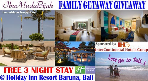 GIVEAWAY IHG Holiday Inn Resort Bali