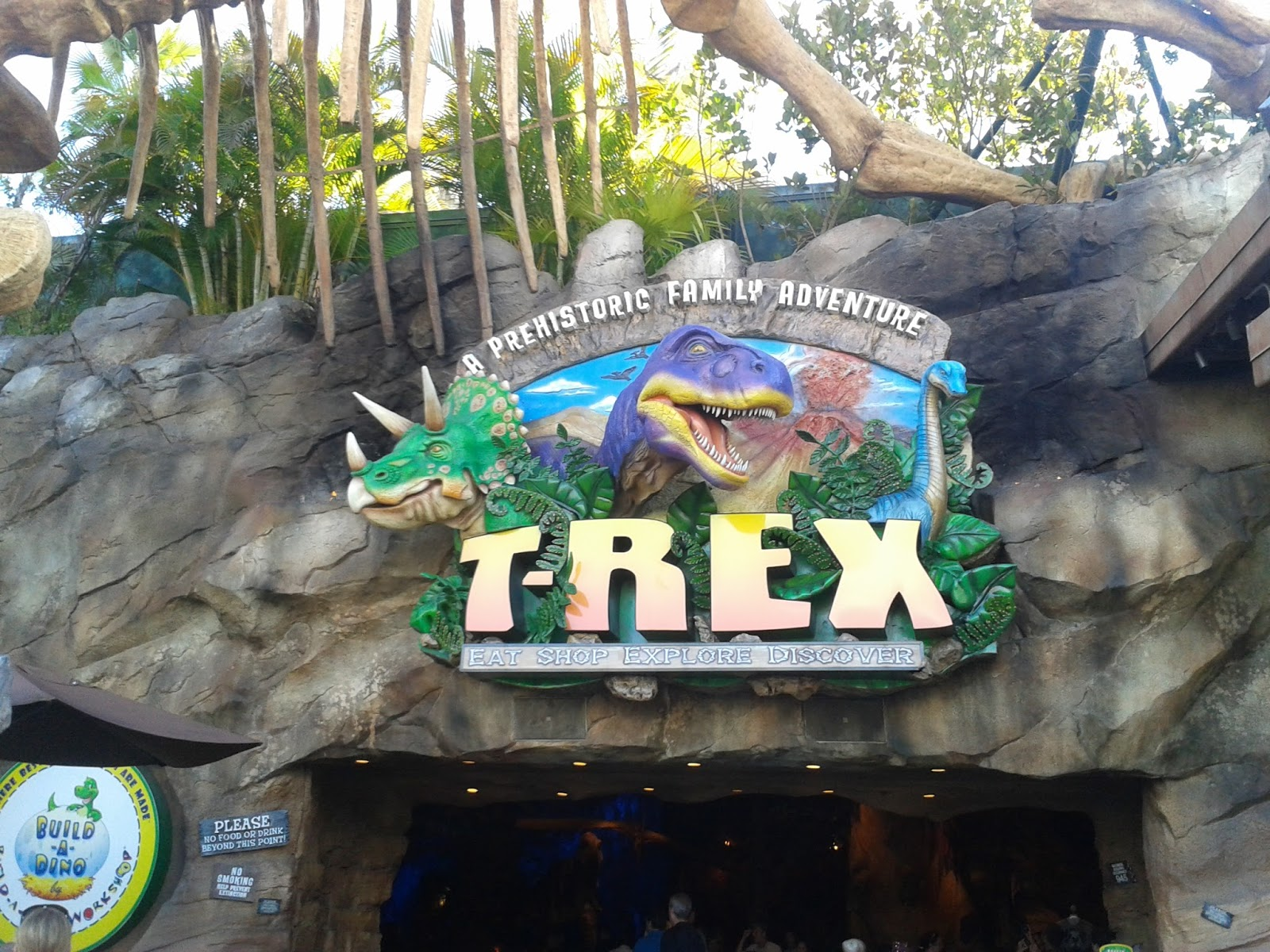 Downtown Disney T-Rex Restaurant