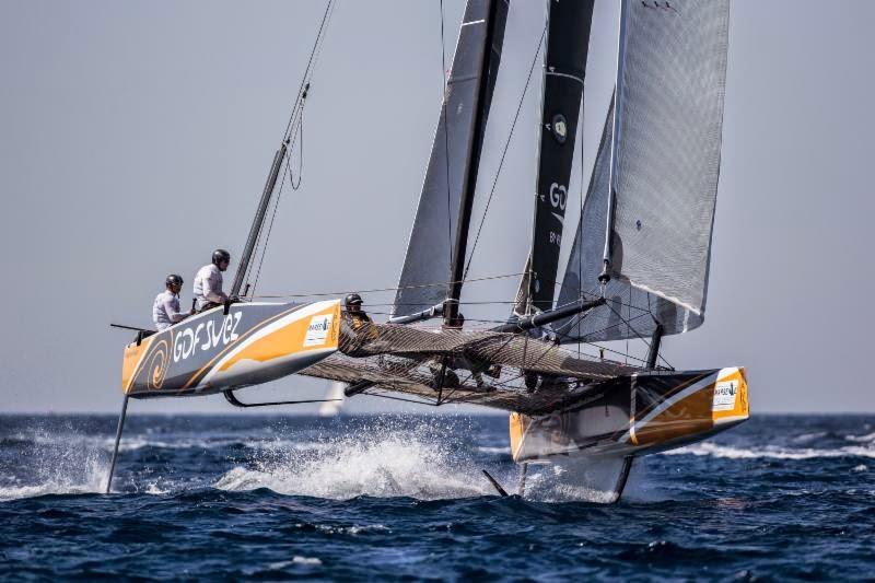 Sébastien Rogues en GC32 pour 2015.