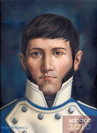 GUERRILLERO QUE VINO A LUCHAR POR LA INDEPENDENCIA NACIONAL DE MÉXICO