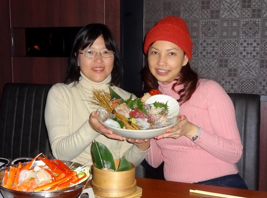 caretta shiodome hokkaido japanese restaurant review