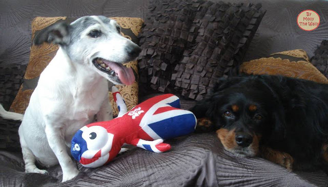 2 Molly The Wally Wrestles Wenlock The London 2012 Olympic Games Mascot.