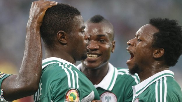 Nigeria ease into final of AFCON 2013