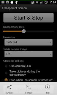 Transparent Screen PRO