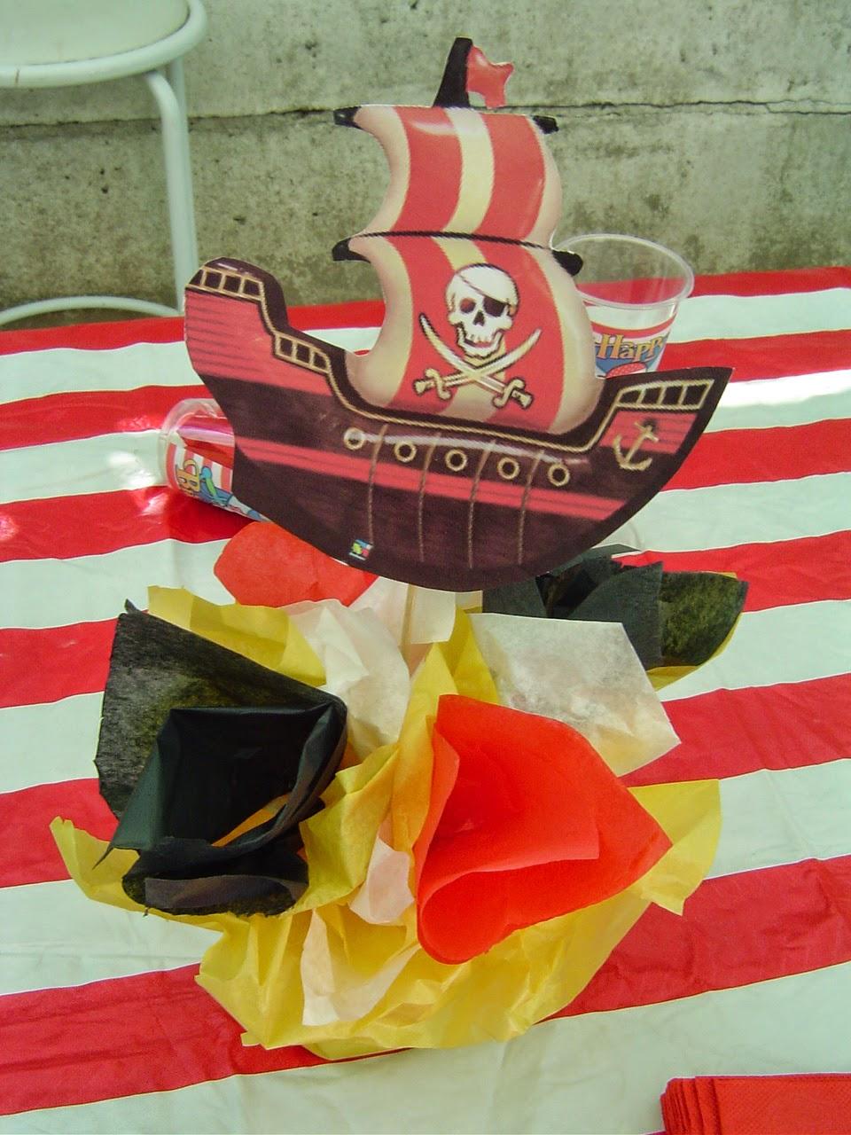 Centros de Mesa Piratas del Caribe, parte 2