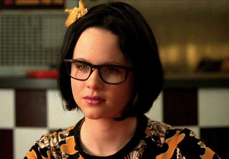 Enid  Thora Birch  in    Ghost World    - The physiological embodiment    Thora Birch Ghost World Green Hair