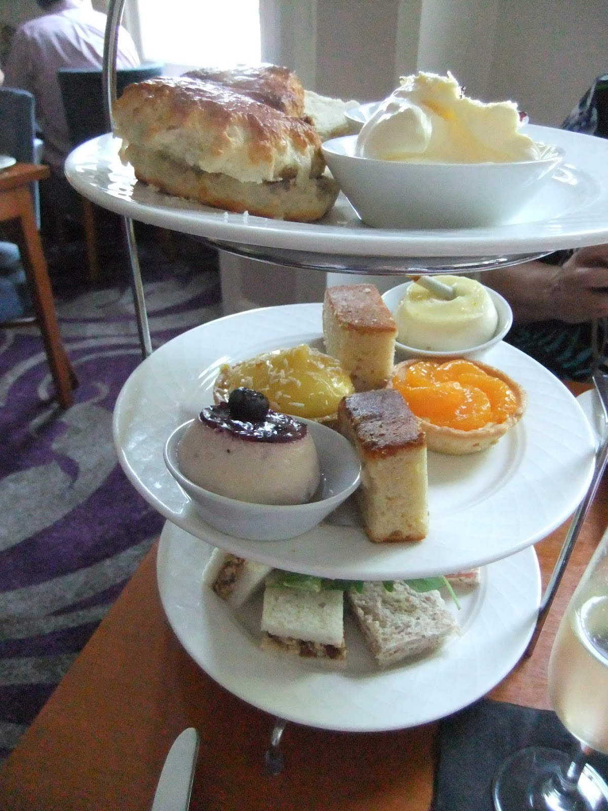 cardiff afternoon tea review the angel