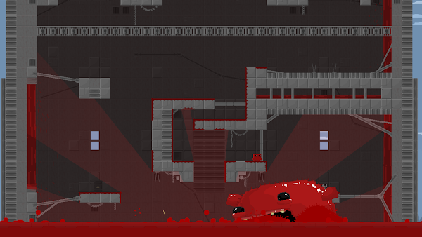 Super Meat Boy screen2