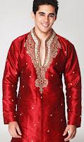 Kurta Pajama Men's Casual Long Sleeve Comfort Dress
