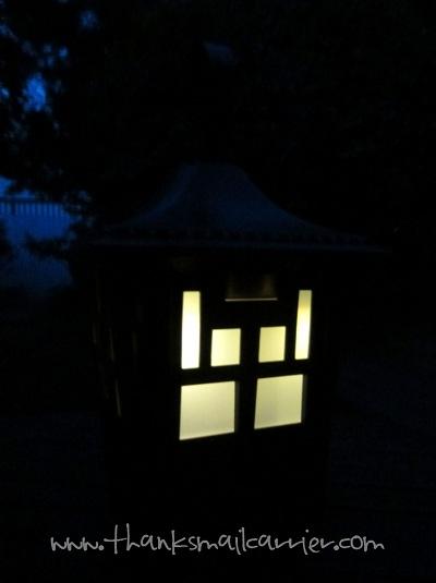 Terminix Mosquito Lantern light