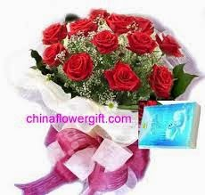 China Christmas flowers gifts Delivery in Christmas Day and New year
