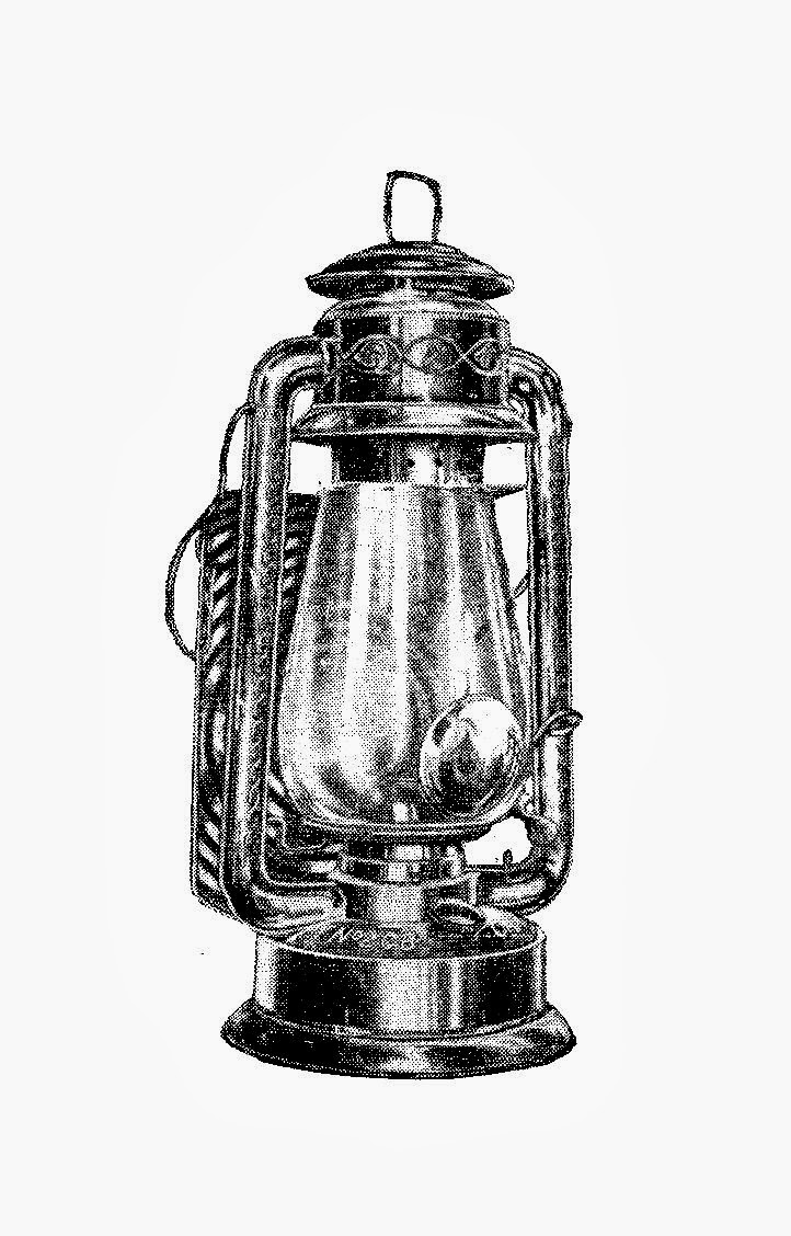 Free Antique Digital Stamps 2 Driving Lamps And Lanterns 1913
