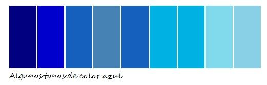 Habitacion azul y gris