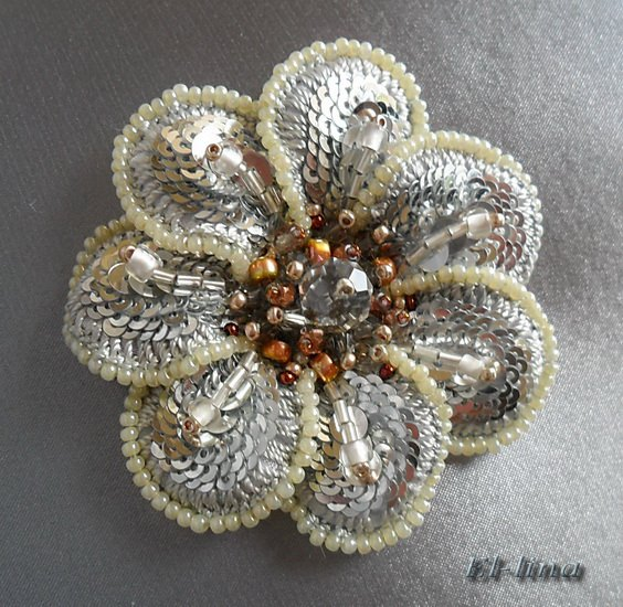 Gorgeous bead embroidery by elena emelina the beading