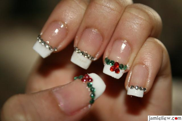Nail art gallery christmas nail art prinsesfo Gallery