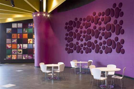 purple cafe interior designs ideas modern home design