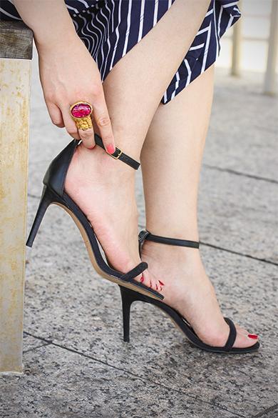 Loft single strap sandals