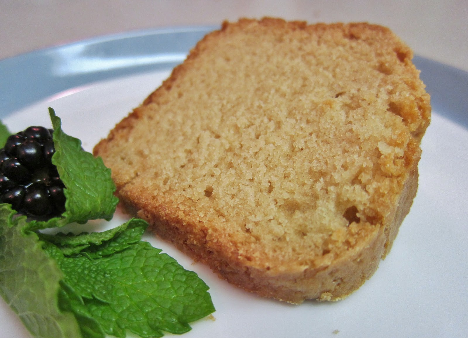 The Vegan Chronicle: Coconut Sour Cream Pound Cake