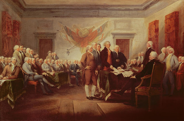 after the fact declaring independence Do now take out your lesson 54 fact-finder define the words on page 128 of   presentation on theme: declaring independence— presentation transcript:   after making some changes, delegates approved the document on july 4, 1776.