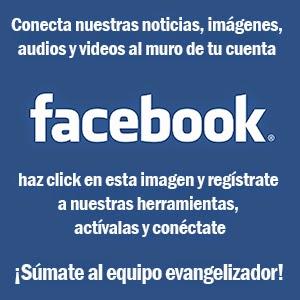 Conecta nuestros servicios al muro de tu cuenta Facebook