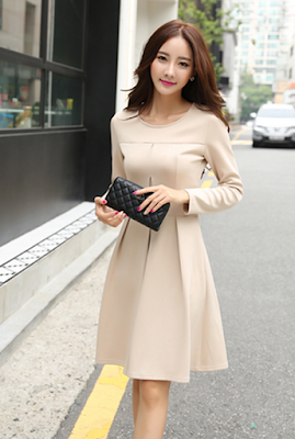 Beautiful Elegant Dress Apricot Romantic World