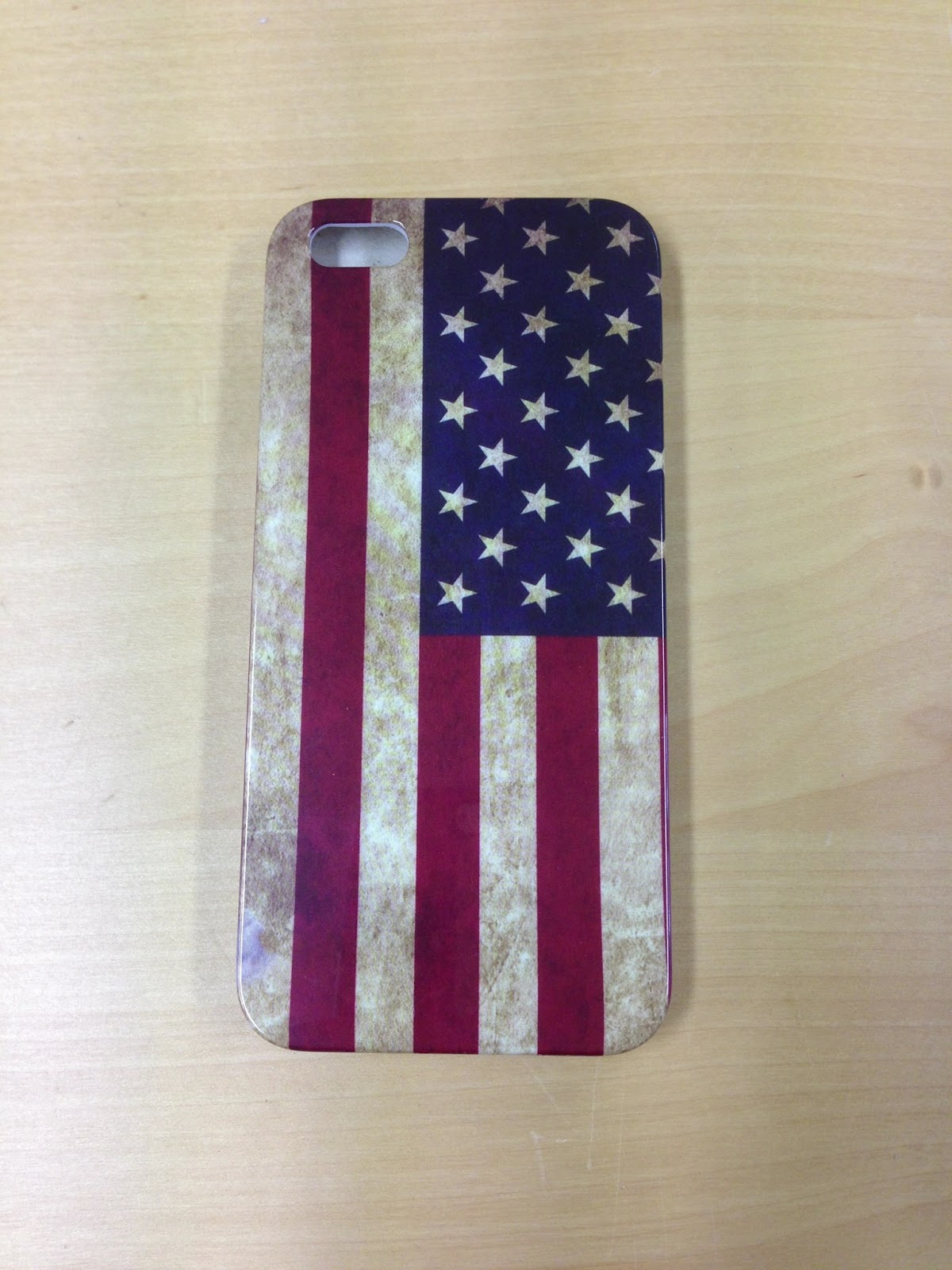 Skal till iPhone 5 Usa Flaggan Retro från jButiken