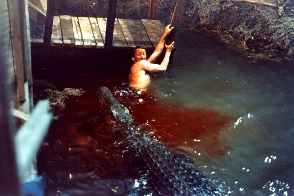 Crocodile eating man alive - photo#9