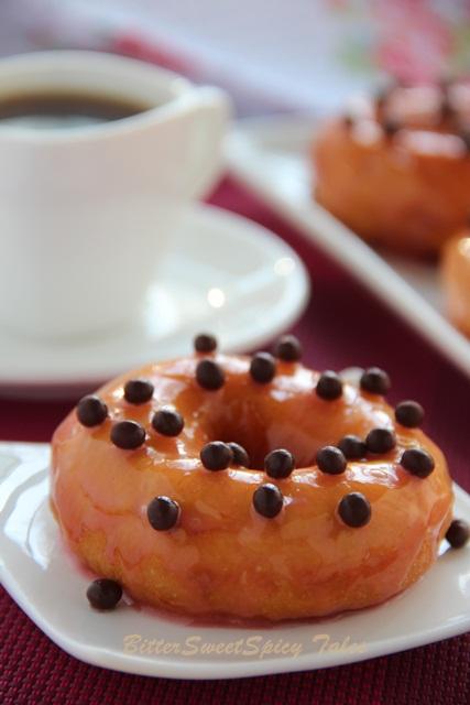 BitterSweetSpicy: Sweet Potato Doughnuts