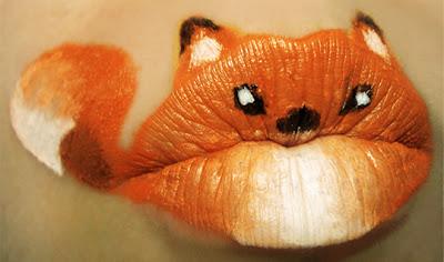Maquiagem criativa que transforma a boca em arte - 06