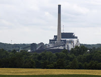This July 15, 2015 photo shows Interstate Power and Light's plant in Ottumwa, Iowa. Interstate Power and Light, Alliant Energy's Iowa subsidiary, agreed Wednesday, July 15, 2015 to drastically cut pollution at Ottumwa and several coal-fired power plants under a Clean Air Act settlement that's expected to make the air safer and easier to breathe around the state. (Credit: Matt Milner/The Courier via AP) Click to Enlarge.