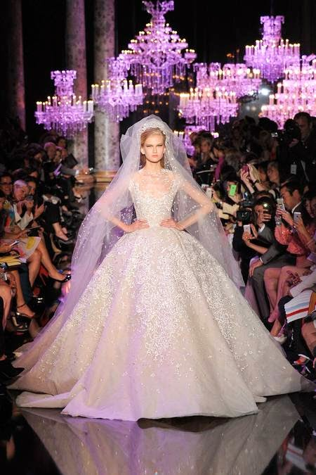 Elie Saab Princess Ball Gown, Fall 2014