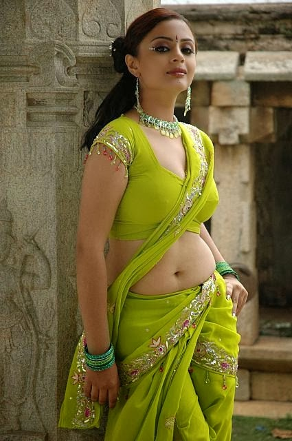 Suhani Spicy Photo Shoot Hot Navel Stills in Saree