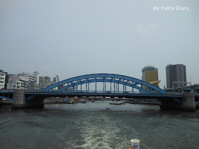 Eitaibashi Bridge at the Sumida river cruise, Tokyo