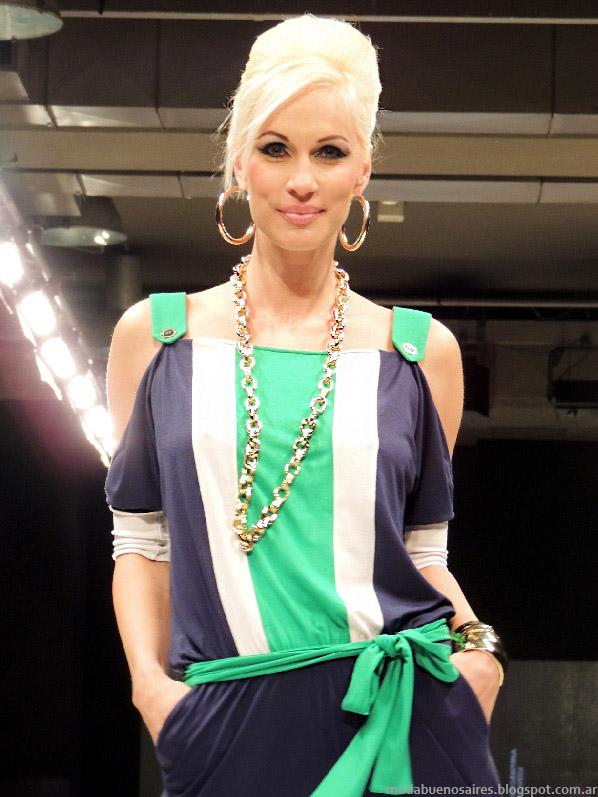 Moda 2014 Adriana Costantini colección.