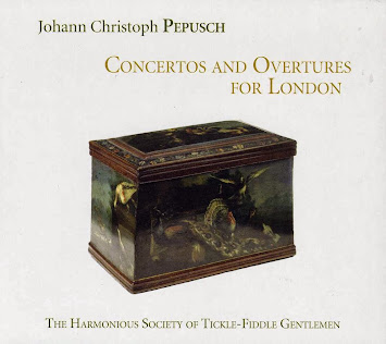 Pepusch: Concertos and Overtures for London