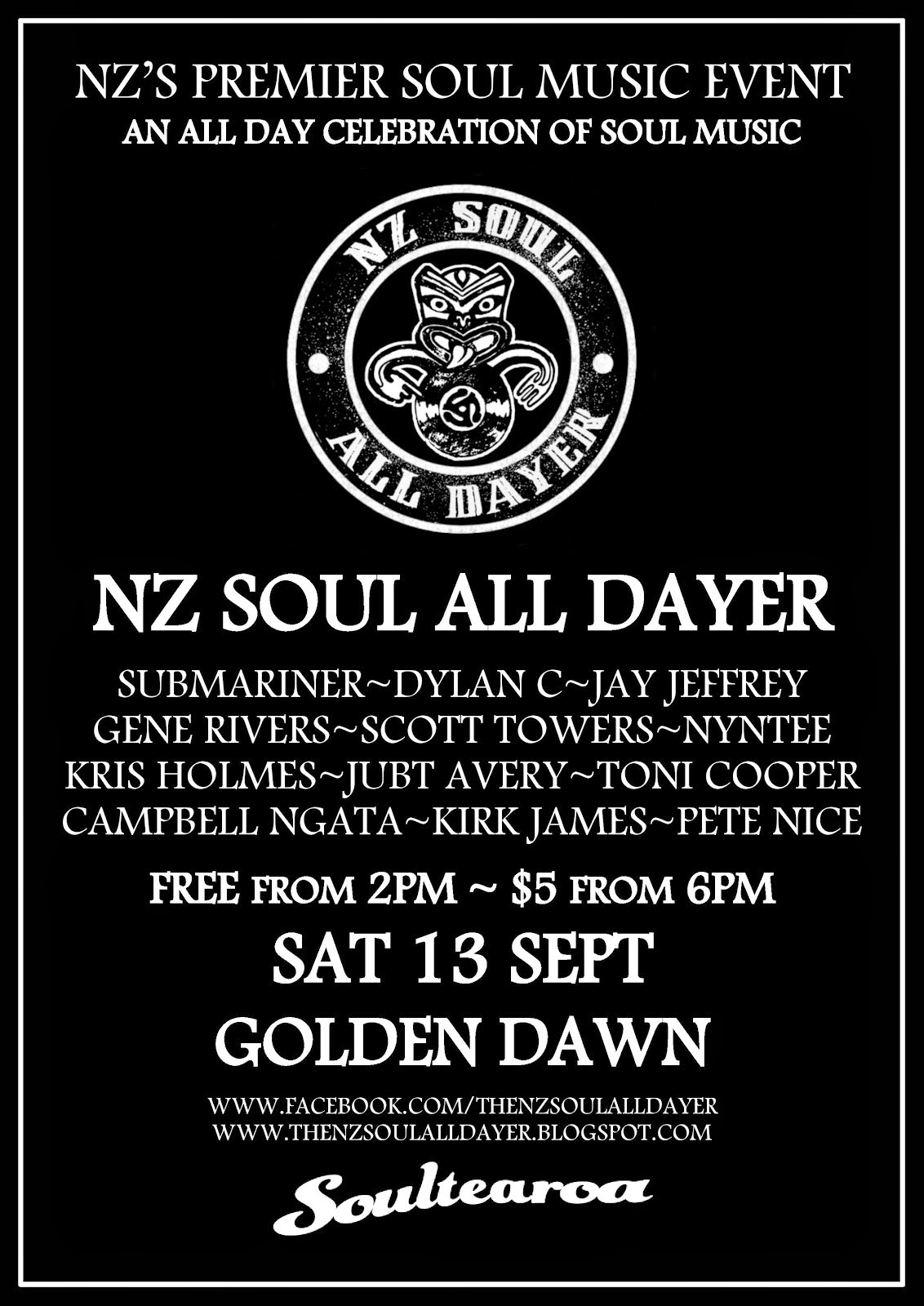 NZ Soul All Dayer #5