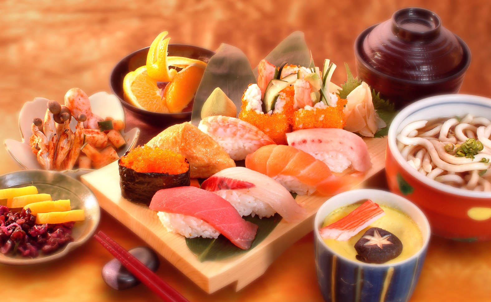 Japanese street dishes make everyone to be enthralled