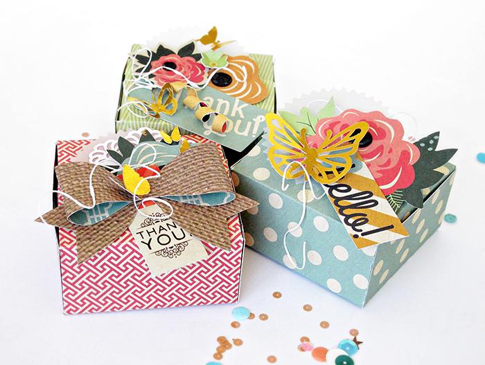 Kim watson design papercraft how to make pretty paper gift one piece gift box by kim watson negle Images