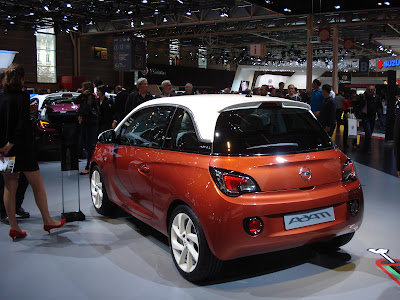 Opel Adam back side