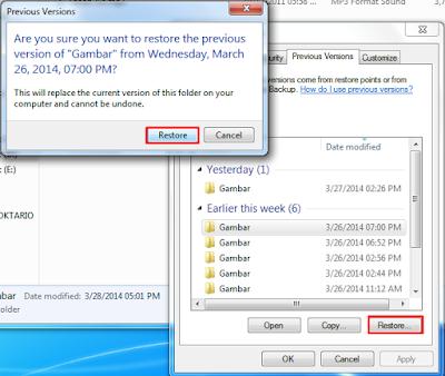 Cara mengembalikan file yang terhapus 4