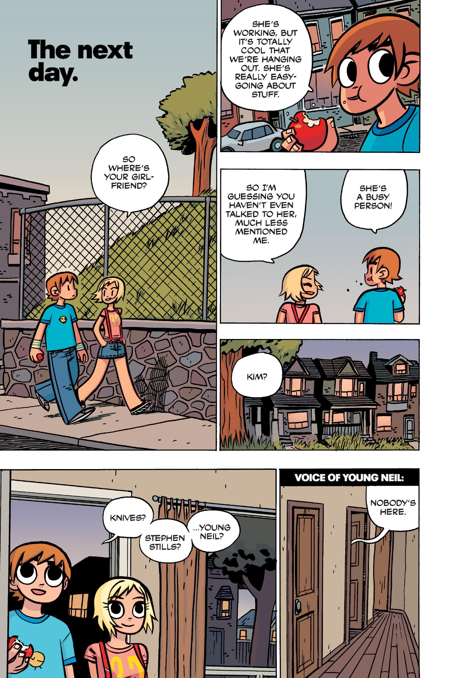 Read online Scott Pilgrim comic -  Issue #4 - 45