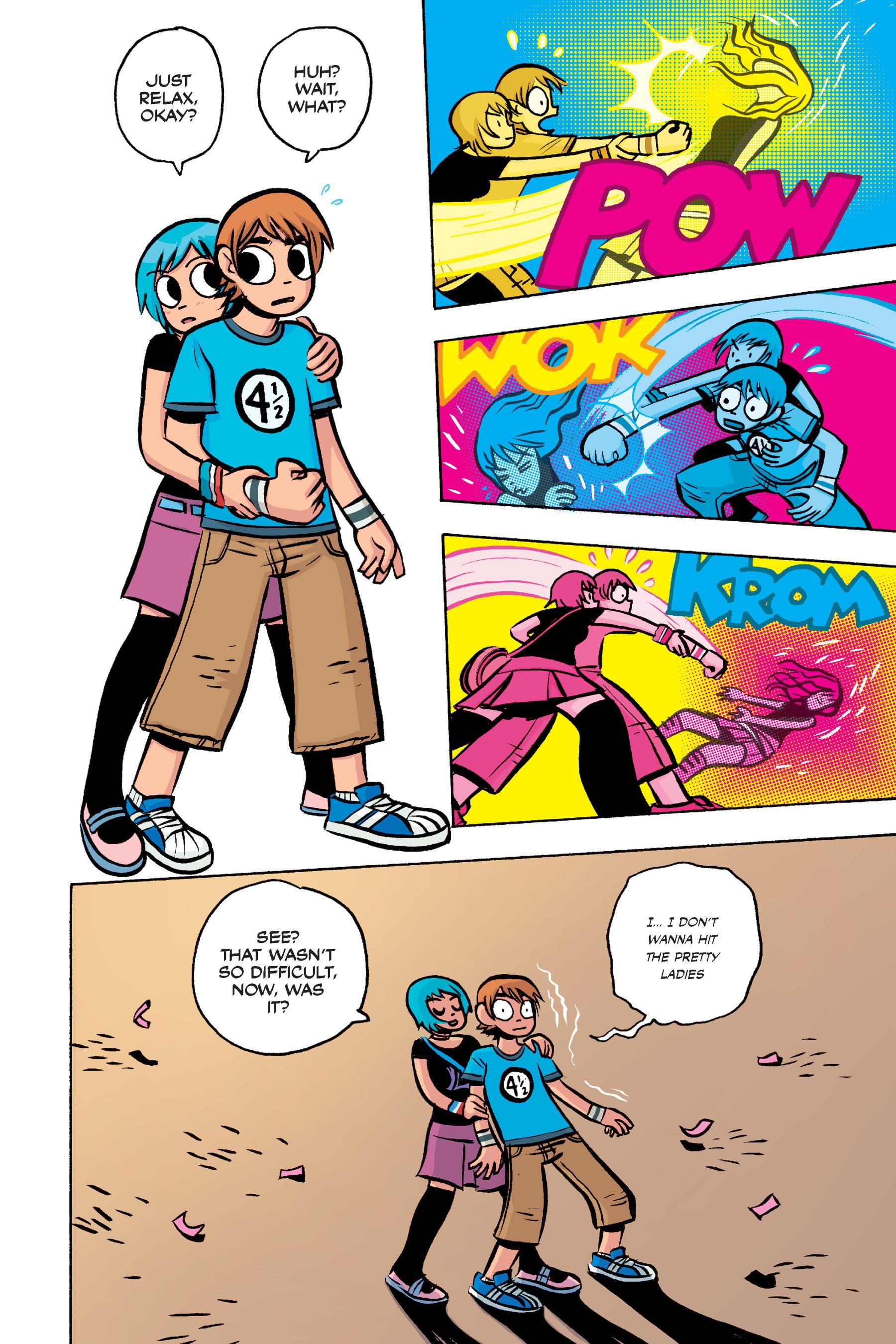 Read online Scott Pilgrim comic -  Issue #3 - 192