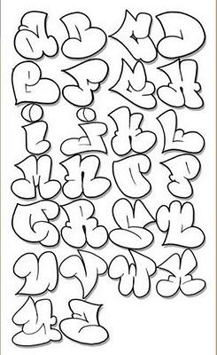 A Alphabet Design Graffiti-Letters-Alphabet-Designs-Sketches-A-Z-Bubble