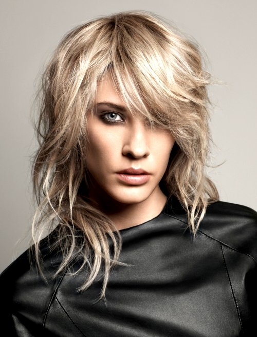 Gypsy Shag Haircuts For Women: