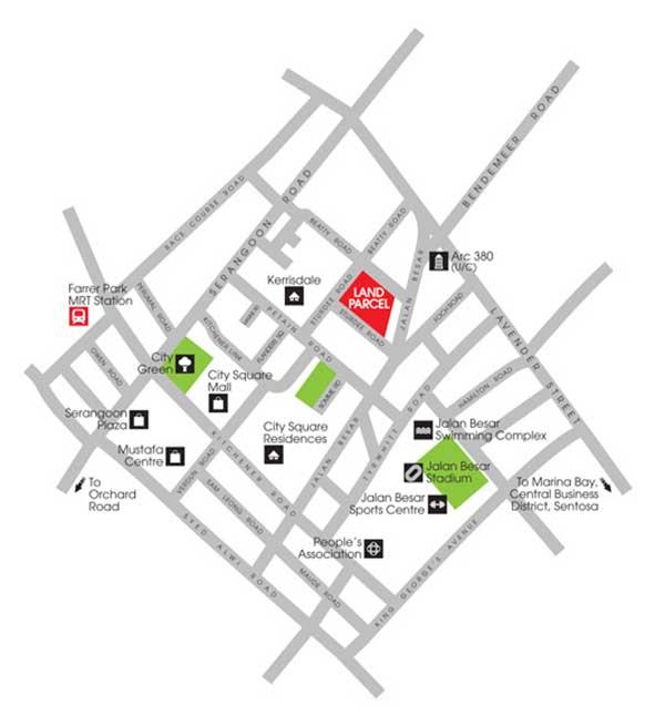 Sturdee Residence Location Map