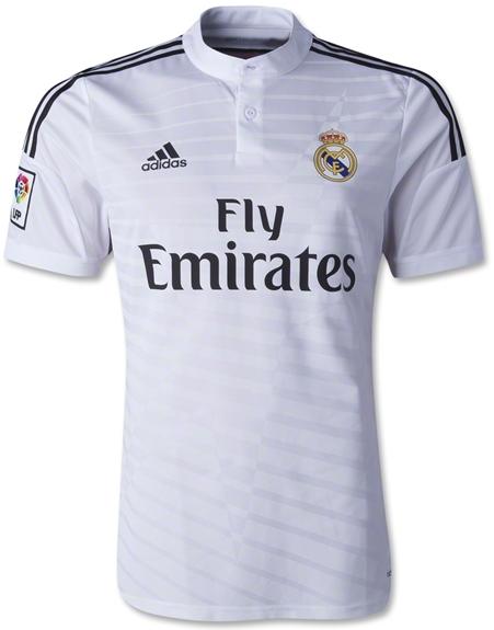 Jersey Terbaru Real Madrid Home 2014 - 2015